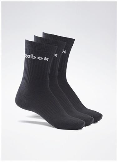 Reebok Reebok Gh0331 Act Core Mıd Crew Sock 3P Çorap Siyah